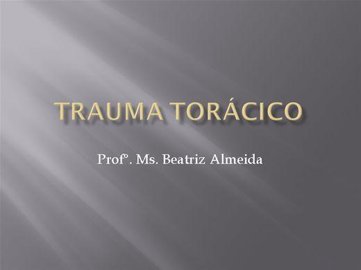 Curso Online de TRAUMA TORÁCICO