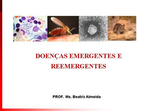 Curso Online de DOENÇAS EMERGENTES E REEMERGENTES