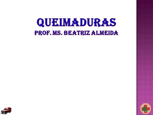 Curso Online de QUEIMADURAS