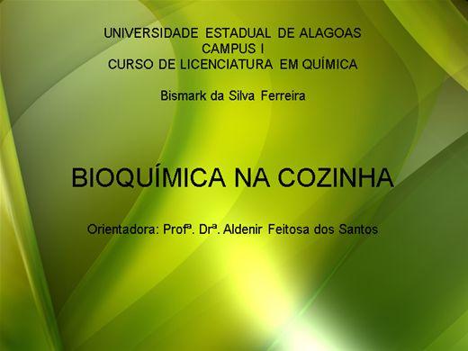 Curso Online de BIOQUÍMICA NA COZINHA