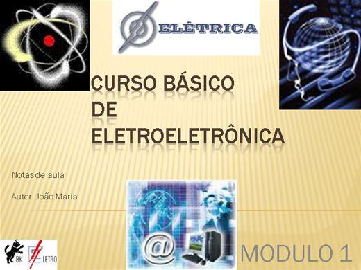 Curso Online de Eletroeletrônica - Básico