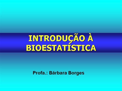 Curso Online de Introdução à Bioestatística