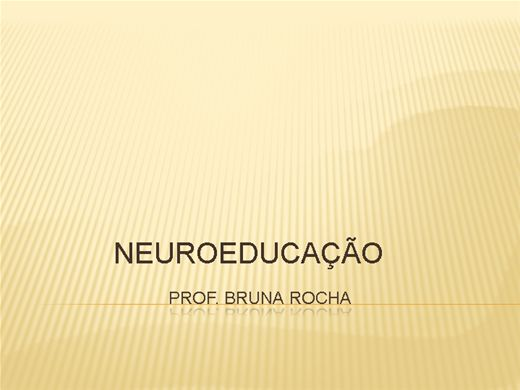 Curso Online de Neuroeducação