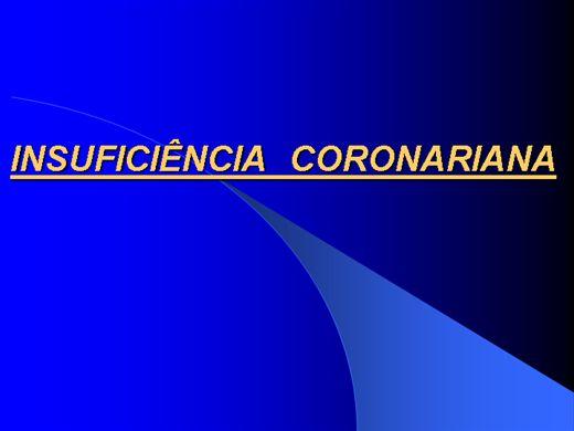 Curso Online de Insuficiencia coronaria