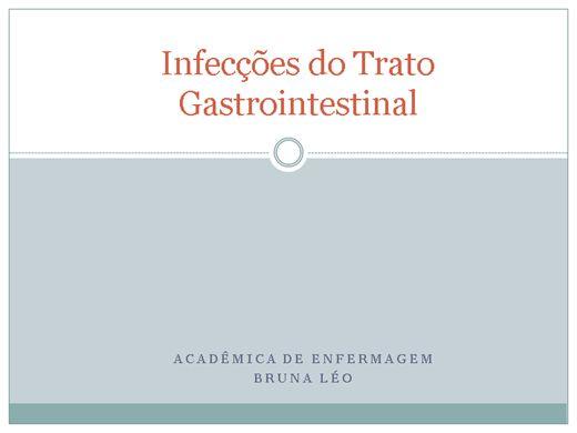 Curso Online de Infecções do Trato Gastrointestinal