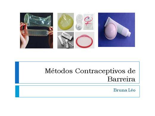 Curso Online de Métodos Contraceptivos de Barreira - Uma visão da Enfermagem