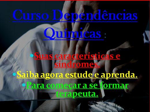 Curso Online de COMORBIDADES DA DEPENDÊNCIA QUÍMICA