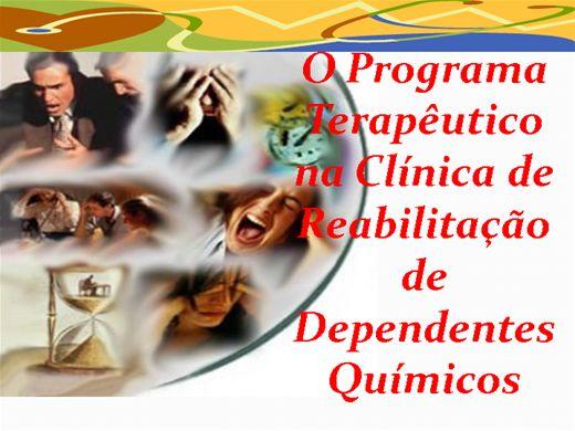 Curso Online de PROGRAMA TERAPÊUTICO PARA CLINICA DE DEPENDENTES QUIMICOS