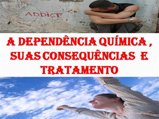 Curso Online de DEPENDÊNCIA QUÍMICA, TIPOS DE DROGAS E SUAS CONSEQUÊNCIAS E TRATAMENTO