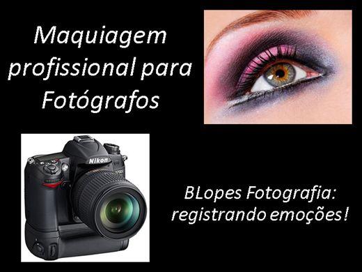 Curso Online de Maquiagem (Make up) profissional para Fotógrafos