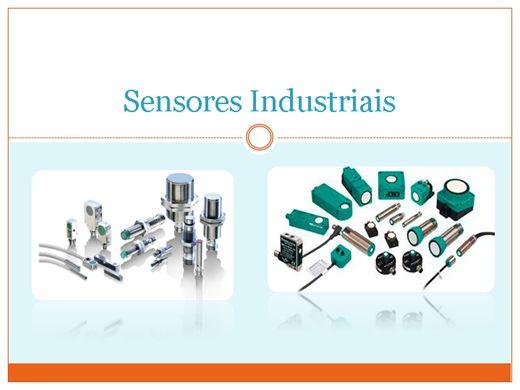 Curso Online de Sensores de processos industriais