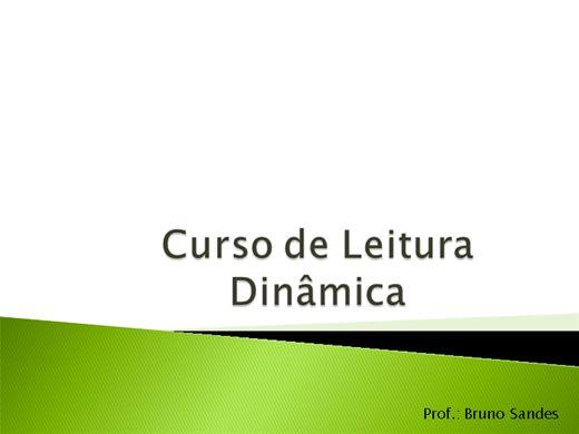 Curso Online de Leitura Dinâmica