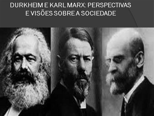 Curso Online de DURKHEIM E KARL MARX: PERSPECTIVAS E VISÕES SOBRE A SOCIEDADE