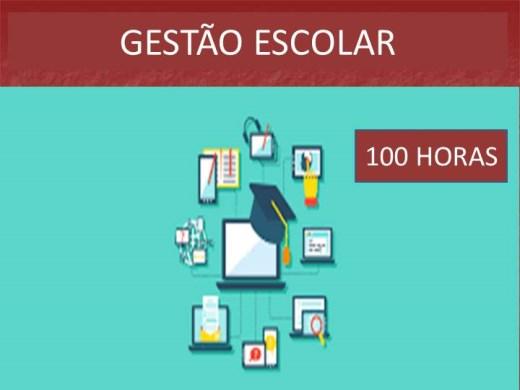 Curso Online de GESTÃO ESCOLAR