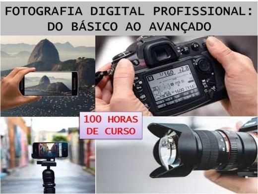 Curso Online de FOTOGRAFIA DIGITAL PROFISSIONAL: DO BÁSICO AO AVANÇADO