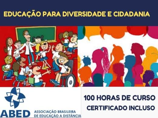 Curso Online de EDUCAÇÃO PARA DIVERSIDADE E CIDADANIA