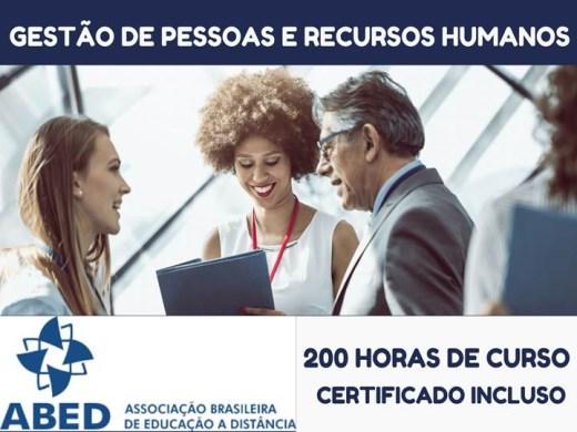 Curso Online de GESTÃO DE PESSOAS E RECURSOS HUMANOS
