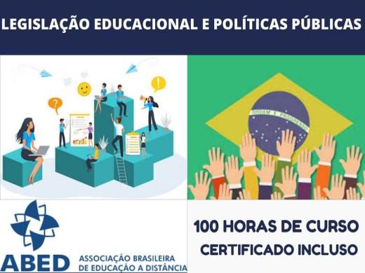 Curso Online de LEGISLAÇÃO EDUCACIONAL E POLÍTICAS PÚBLICAS
