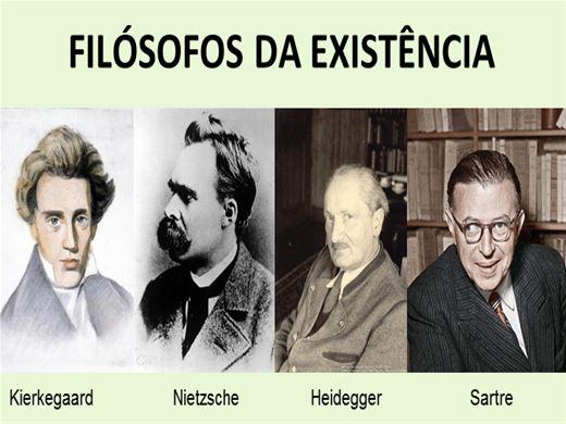Curso Online de Filósofos da Existência