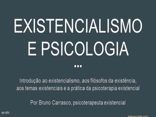 Curso Online de Existencialismo e Psicologia - Introdução