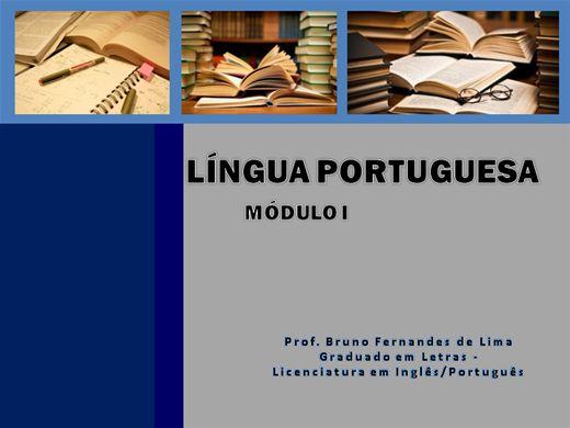 Curso Online de Língua Portuguesa - Módulo I