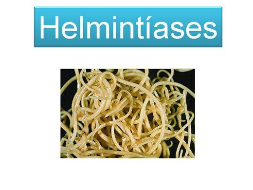 Curso Online de Parasitologia - Helmintíases