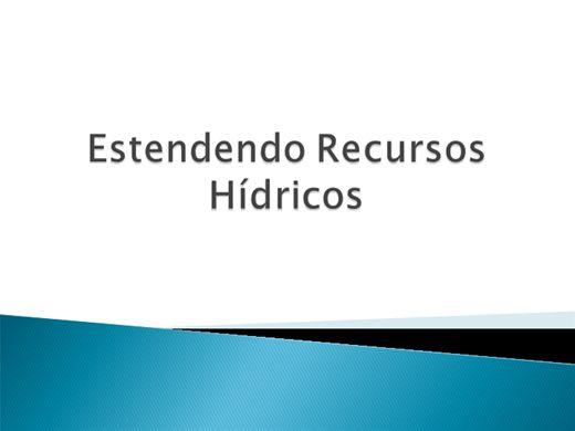 Curso Online de Estendendo Recursos Hídricos