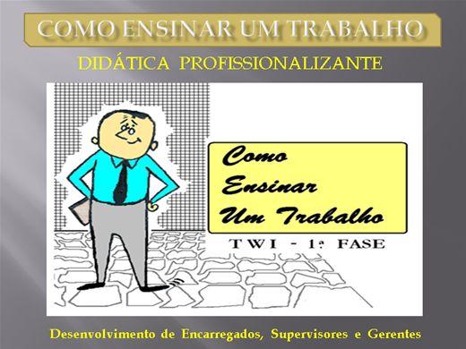 Curso Online de COMO ENSINAR UM TRABALHO