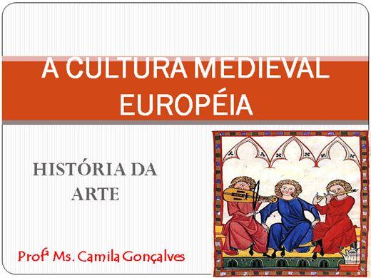 "Curso Online de Mini Curso: ""A Arte e a Cultura Medieval"""