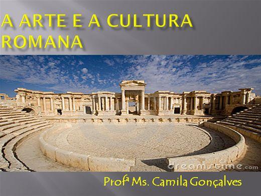 Curso Online de Mini Curso: A Arte e a Cultura Romana