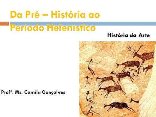 """Curso Online de Mini Curso: """"Da Pré-História ao período Helenístico"""""""