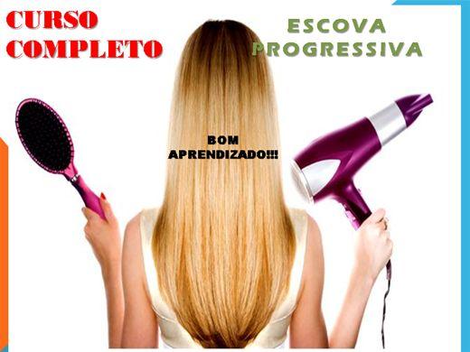 Curso Online de ESCOVA PROGRESSIVA - COMPLETO