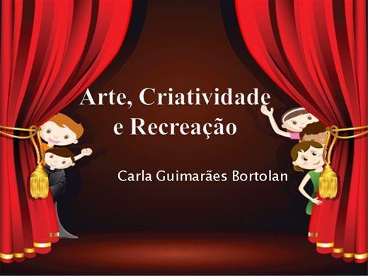Curso Online de Arte, Criatividade e Recreação