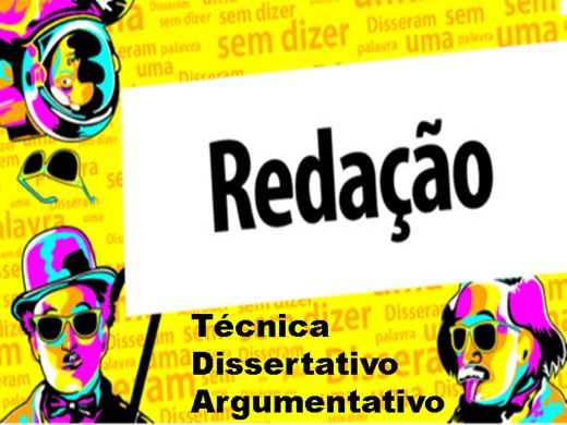 Curso Online de Redação - Técnica Dissertativa Argumentativ