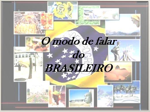 Curso Online de O modo de falar do brasileiro- Dialetos, sotaques e gírias