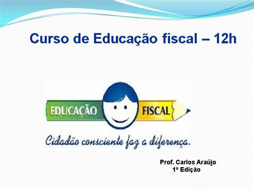 Curso Online de Educação Fiscal