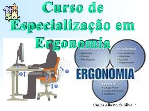Curso Online de Curso de Especialização em Ergonomia