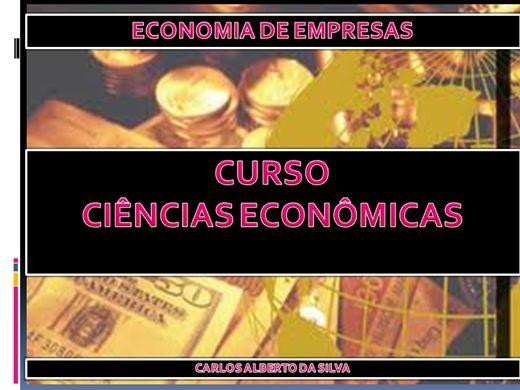 Curso Online de CURSO DE CIÊNCIAS ECONÔMICAS