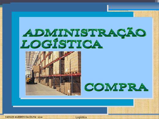 Curso Online de ADMINISTRAÇÃO LOGÍSTICA E COMPRA