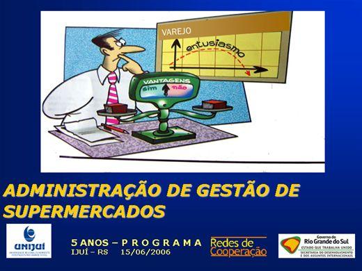 Curso Online de ADMINISTRAÇÃO DE SUPERMERCADOS