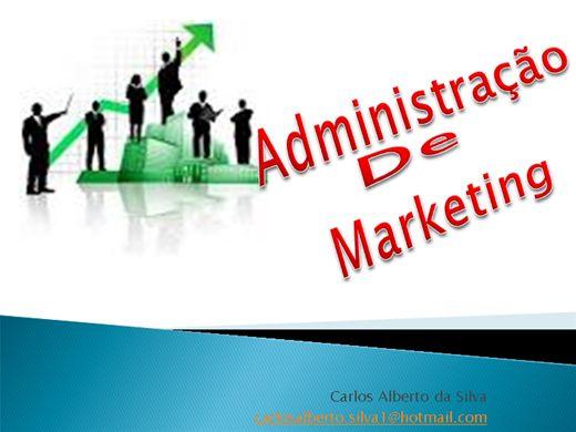 Curso Online de ADMINISTRAÇÃO DE MARKETING