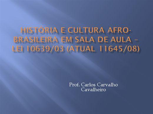 Curso Online de História e Cultura Afro-brasileira em sala de aula