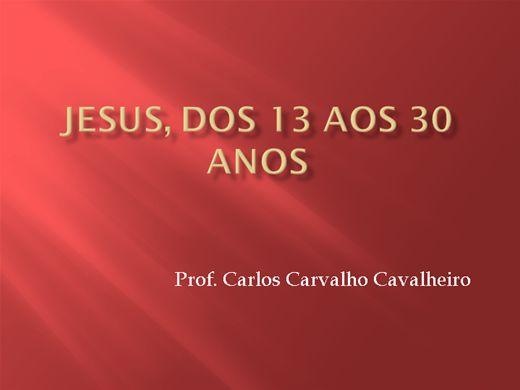 Curso Online de Jesus, dos 13 aos 30 anos