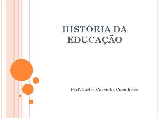 Curso Online de História da Educação