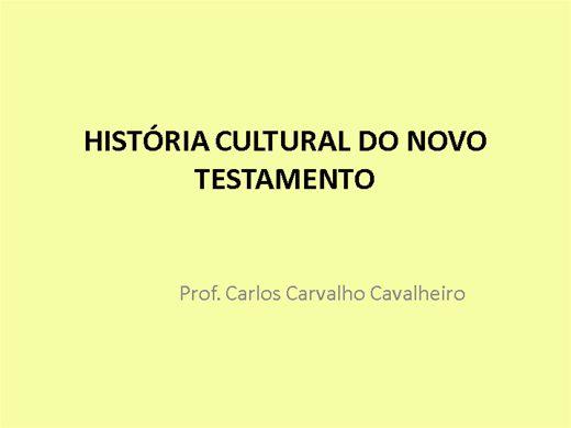 Curso Online de História Cultural do Novo Testamento