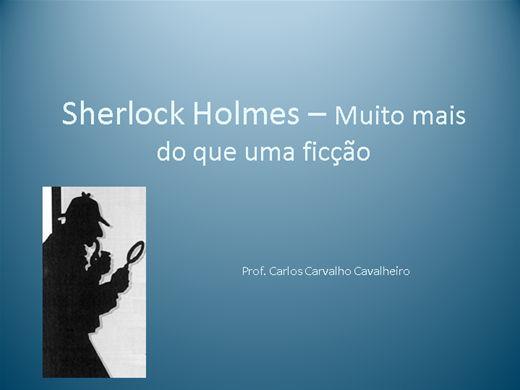 Curso Online de Sherlock Holmes - Muito mais do que uma ficção