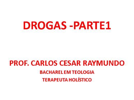 Curso Online de DROGAS - PARTE 1