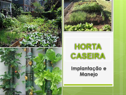 Curso Online de Horta Caseira- Implantação e Cultivo