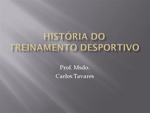 Curso Online de História do Treinamento Desportivo