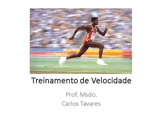 Curso Online de Treinamento de Velocidade